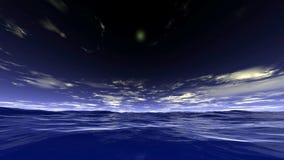 Ondas de oceano ilustração stock