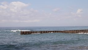 Ondas de oceano Ilha de Bali vídeos de arquivo