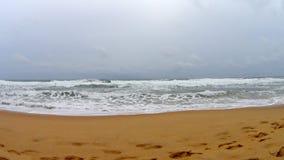Ondas de oceano de Shi Lanka video estoque