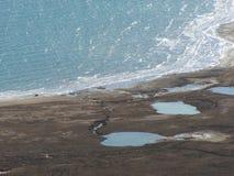 Ondas de sal Imagens de Stock Royalty Free