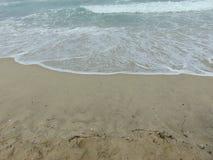 Ondas de um mar que aproxima-se com força Foto de Stock