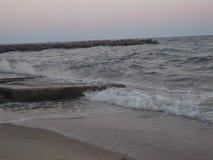 Ondas del ‹del †del ‹del †del mar Imagen de archivo libre de regalías