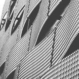 Ondas del acero Imagen de archivo libre de regalías