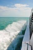 Ondas del aerosol de mar Imagenes de archivo