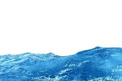Ondas del agua azul libre illustration