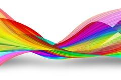 Ondas del arco iris Foto de archivo