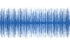 Ondas del audio Imágenes de archivo libres de regalías