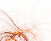 Ondas del fractal Fotografía de archivo libre de regalías