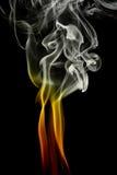 Ondas del humo Fotografía de archivo