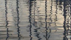 Ondas del mar adriático almacen de video