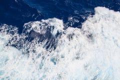 Ondas del mar del fondo Imágenes de archivo libres de regalías