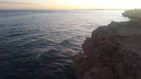 Ondas del Mar Rojo Imágenes de archivo libres de regalías