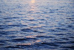 Ondas del río Foto de archivo
