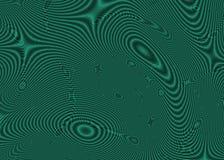 Ondas del sonar Imagen de archivo