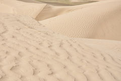 Ondas do deserto Imagem de Stock Royalty Free