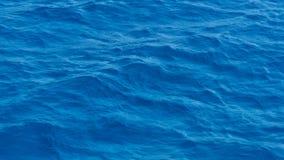 Ondas do mar azul profundo Imagem de Stock