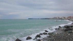 Ondas do Mar Negro 007 vídeos de arquivo