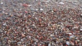 Ondas do mar que aproximam a praia filme