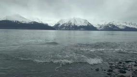 Ondas e marés em Alaska vídeos de arquivo