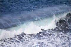 Ondas em Puerto de la Cruz Imagem de Stock Royalty Free