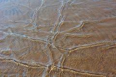 Ondas em um Sandy Beach Imagem de Stock Royalty Free
