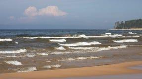 Ondas en el mar Fotografía de archivo