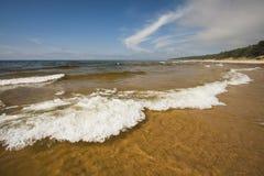 Ondas en el mar Imagen de archivo