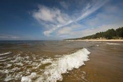 Ondas en el mar Fotos de archivo