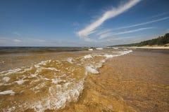 Ondas en el mar Imagen de archivo libre de regalías