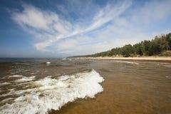 Ondas en el mar Foto de archivo