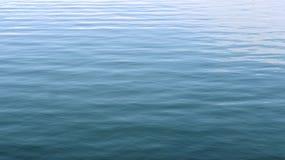 Ondas en el océano azul Imagen de archivo libre de regalías