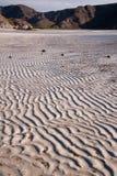 Ondas en la arena Imagen de archivo libre de regalías