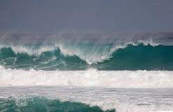 Ondas enormes en el Atlantics Fotos de archivo