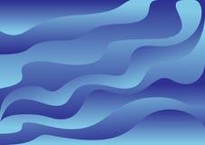 Ondas - fondo del vector Fotos de archivo