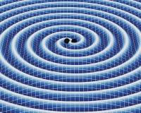 Ondas gravitacionales Imagen de archivo libre de regalías