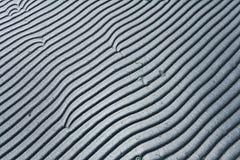 Ondas grises de la textura Fotografía de archivo libre de regalías