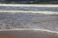 Ondas hermosas del mar Imagen de archivo