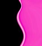 Ondas lisas da cor-de-rosa quente Fotografia de Stock Royalty Free