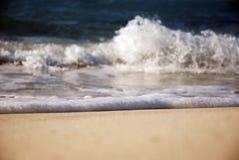 Ondas na costa norte de Egipto Fotografia de Stock