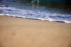 Ondas na costa norte de Egipto fotografia de stock royalty free