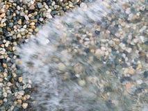 Ondas na praia Fotografia de Stock Royalty Free