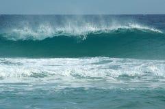 Ondas na praia de Chia Fotografia de Stock