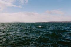 Ondas no Lago Superior fotos de stock