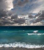 Ondas no mar Fotos de Stock Royalty Free