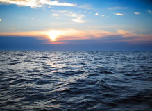 Ondas no oceano Imagem de Stock Royalty Free