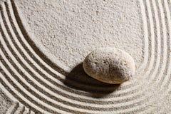 Ondas o curva de diseño de piedra para el cambio o la flexibilidad Imagen de archivo libre de regalías
