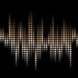 Ondas que pulsan Imagen de archivo libre de regalías