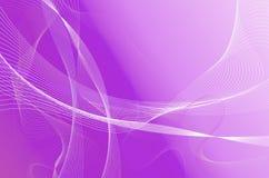 Ondas roxas de aquamarine Imagens de Stock Royalty Free