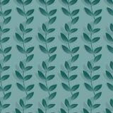 Ondas sin fin del modelo de la hierba Foto de archivo libre de regalías