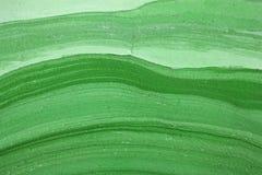 Ondas verdes Imagens de Stock